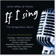 If I Sing: The Songwriters Album CD Image