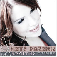 Kate Pazakis: Unzipped CD Image
