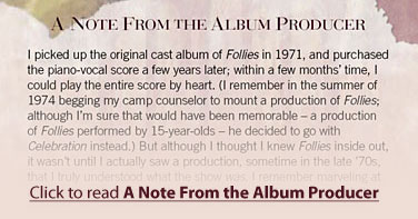 Click to read A Note From the Album Producer